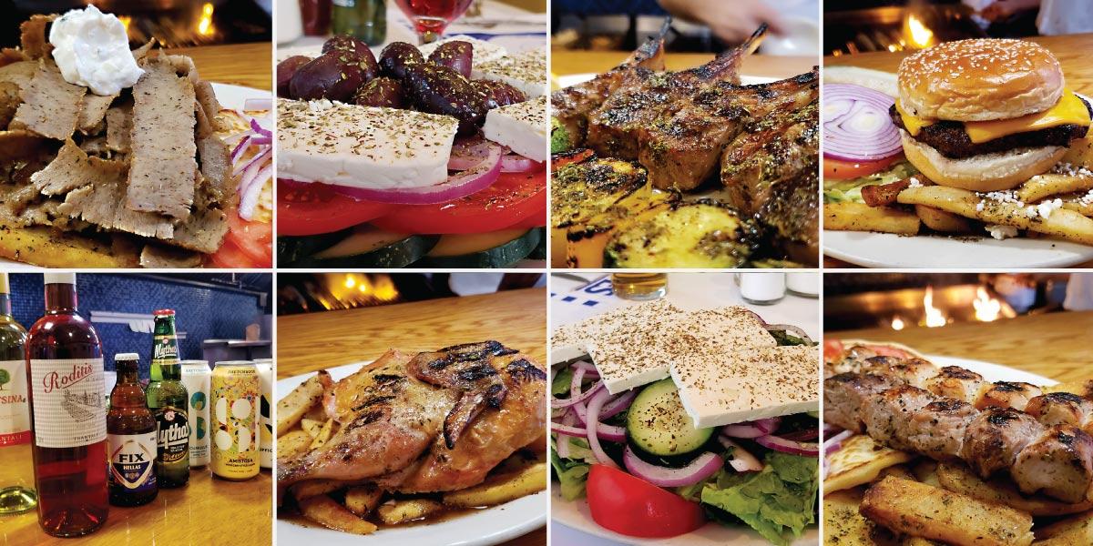 evanston restaurant cross rhodes greek food menu header
