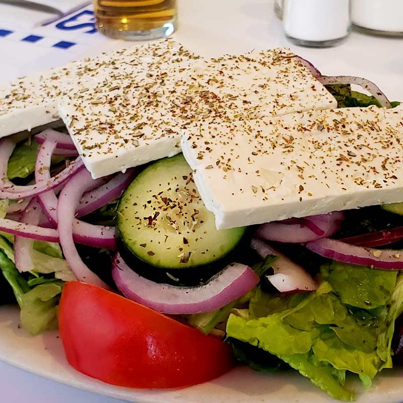 Greek food in Evanston from Cross Rhodes