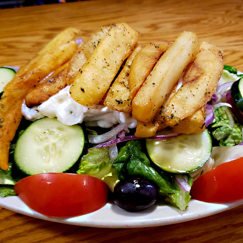 salad in evanston from cross rhodes restaurant